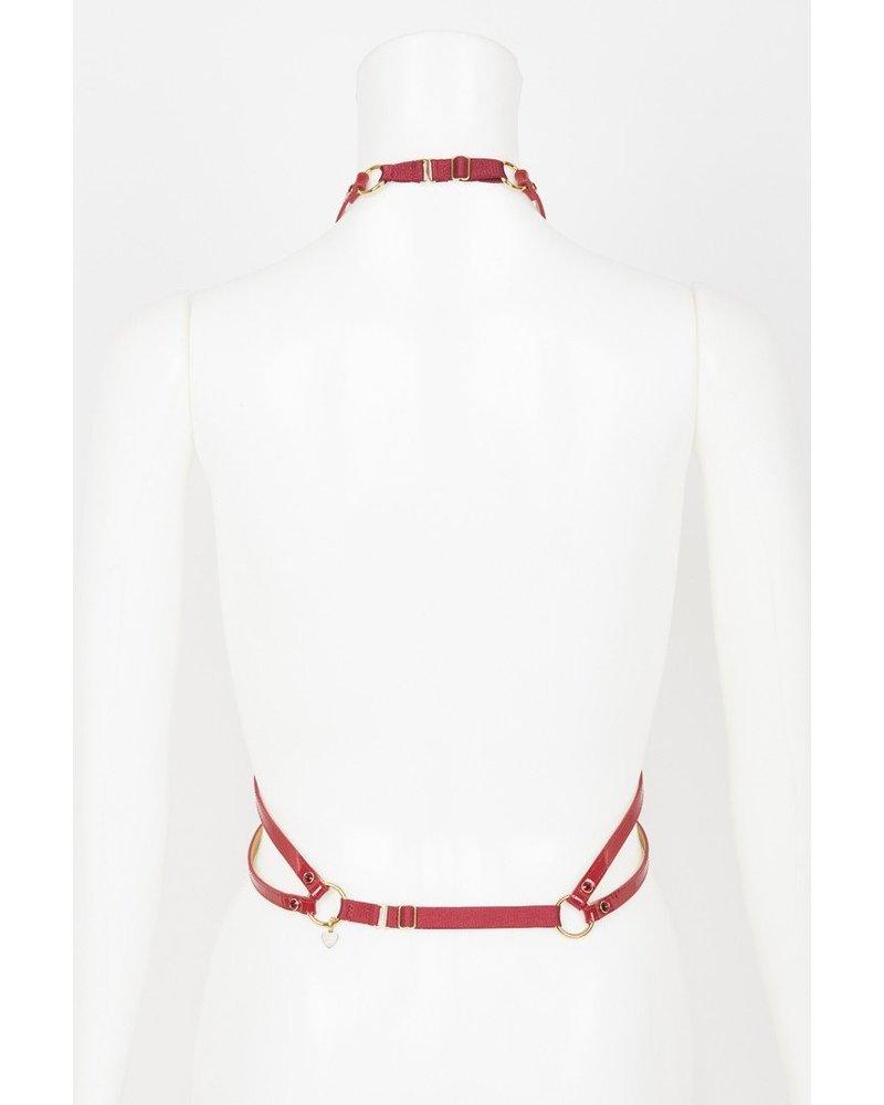 Fräulein Kink Red Hot Harness