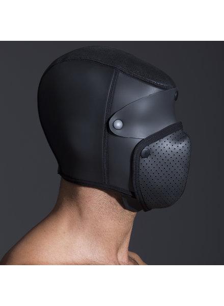 665 Leather Neo Bondage Hood 2.0