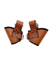 Axovus LLC Padded Leather Ankle Suspension Cuffs