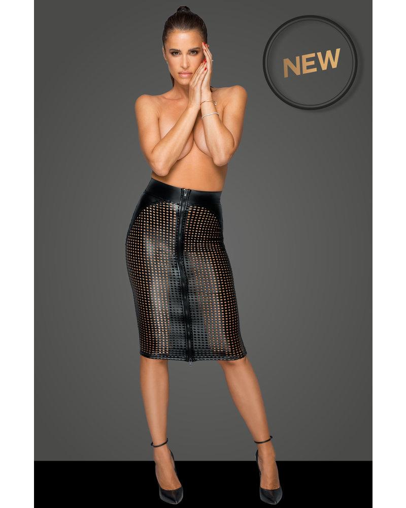 Noir Handmade Laser cut Skirt