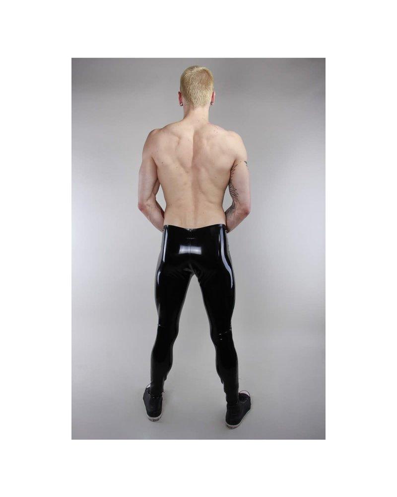 Latex101 Black Latex Leggings
