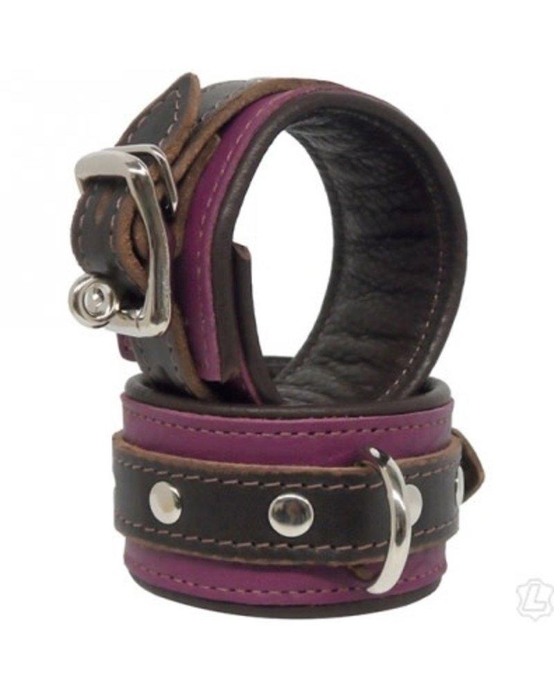 Genuine Leather Narrow Cuffs