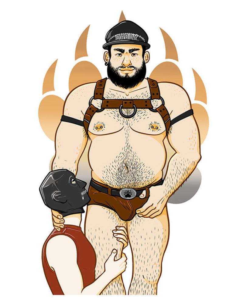 Bondesque Kinky Greetings - Daddy Bear