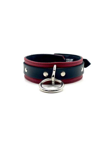 Aslan Leather Jaguar Red Collar