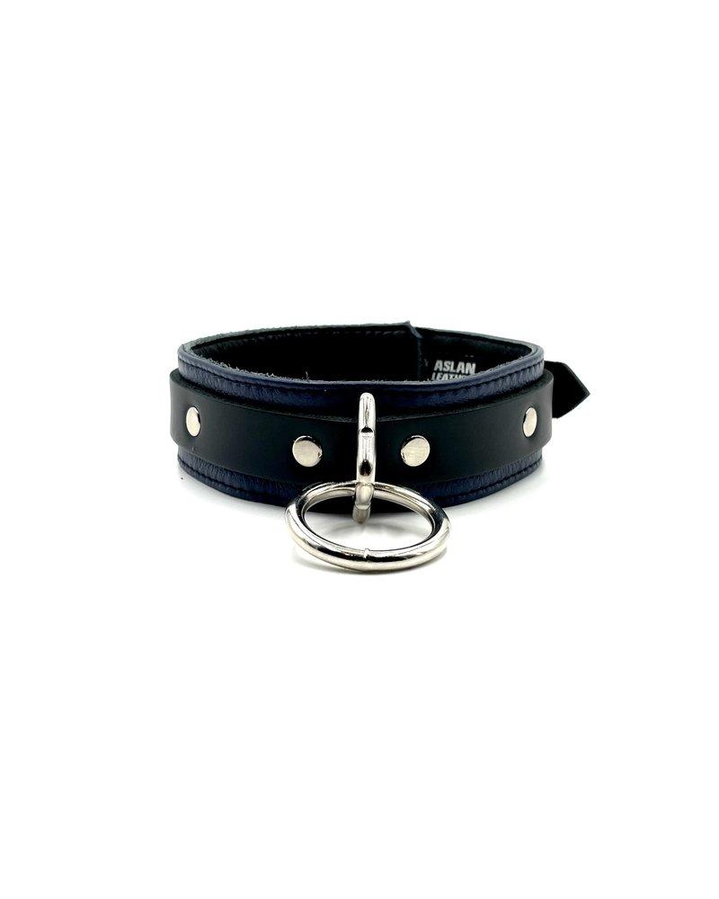 Aslan Leather Jaguar Purple Collar