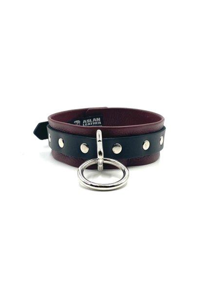 Aslan Leather Cherry Kink bondage collar