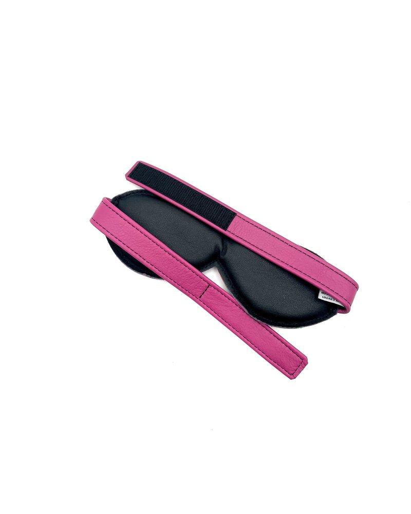 Aslan Leather Padded Leather Blindfold