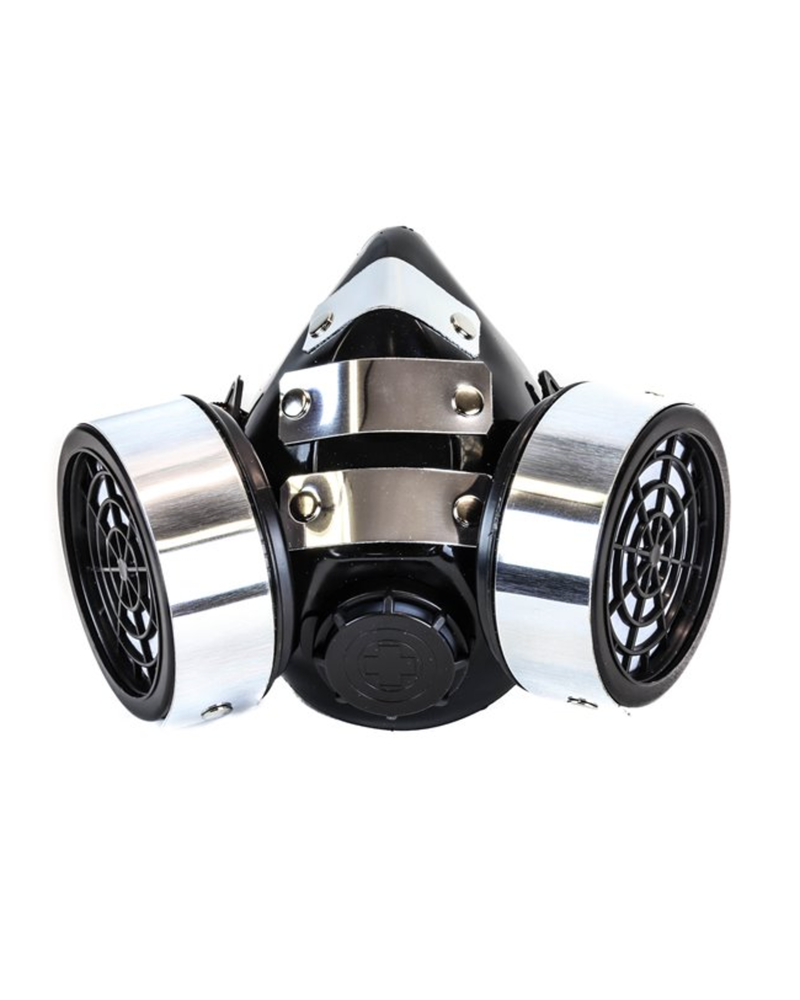 Gas Mask with metal Plates