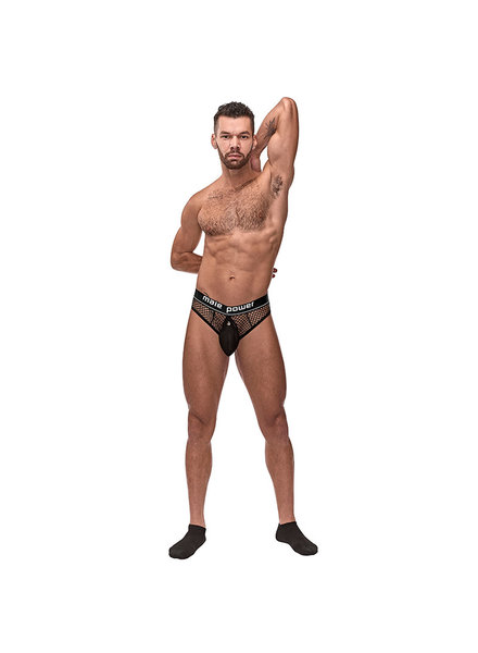 MALEPOWER MP Cock Pit Net Cock Ring Thong