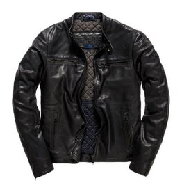 Superdry SD Leather Biker Jacket