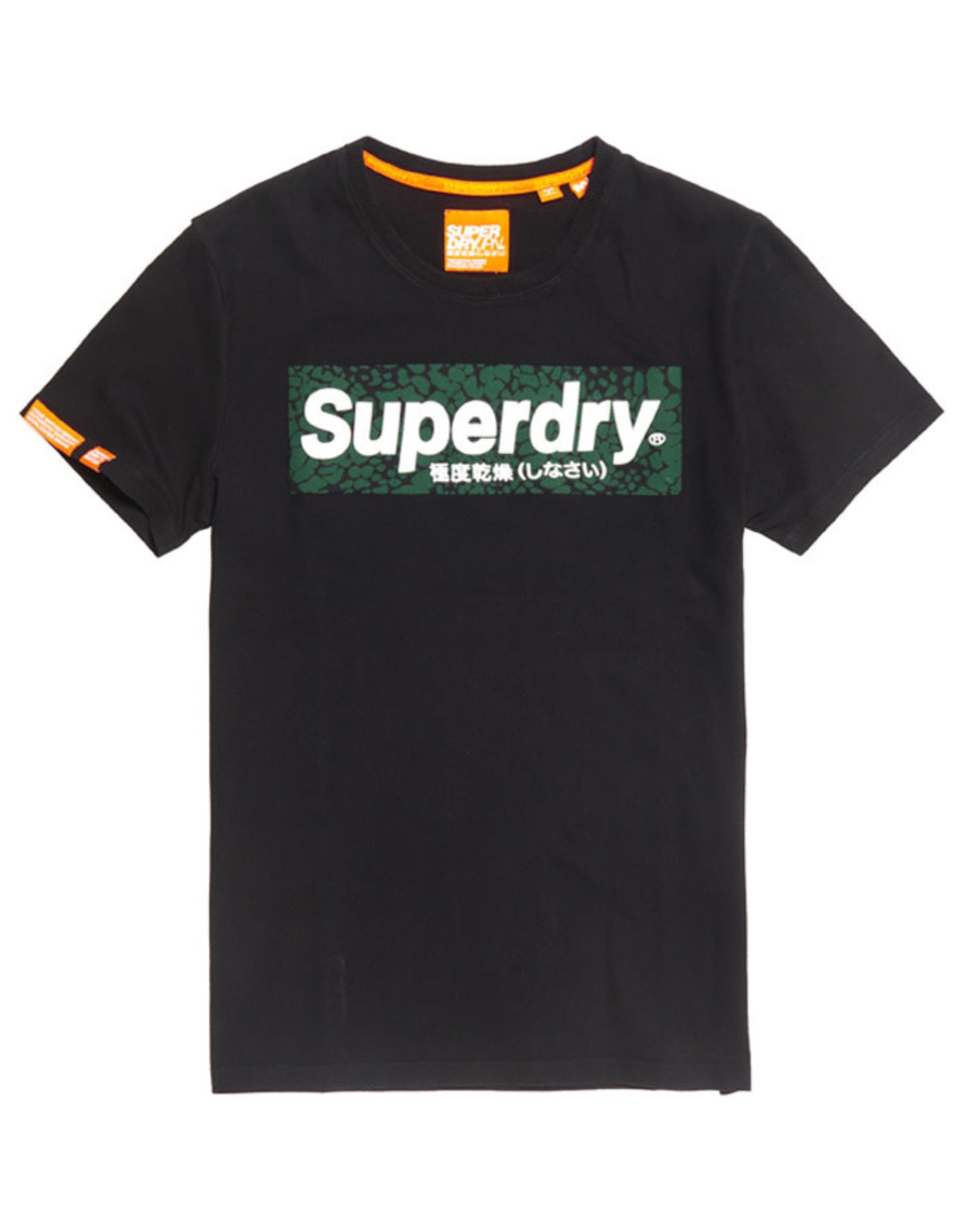 Superdry SD Camo Logo Tee