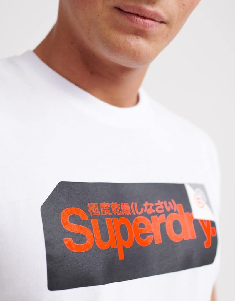 Superdry SD Core Log Tag Tee