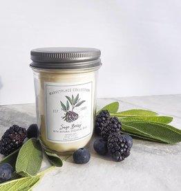 Natura Soy Market Jar 7 Oz Sage Berry