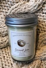 Natura Soy Market Jar 7Oz Coconut Lime