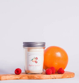 Natura Soy Market Jar 7 Oz Rasberry Grapefruit