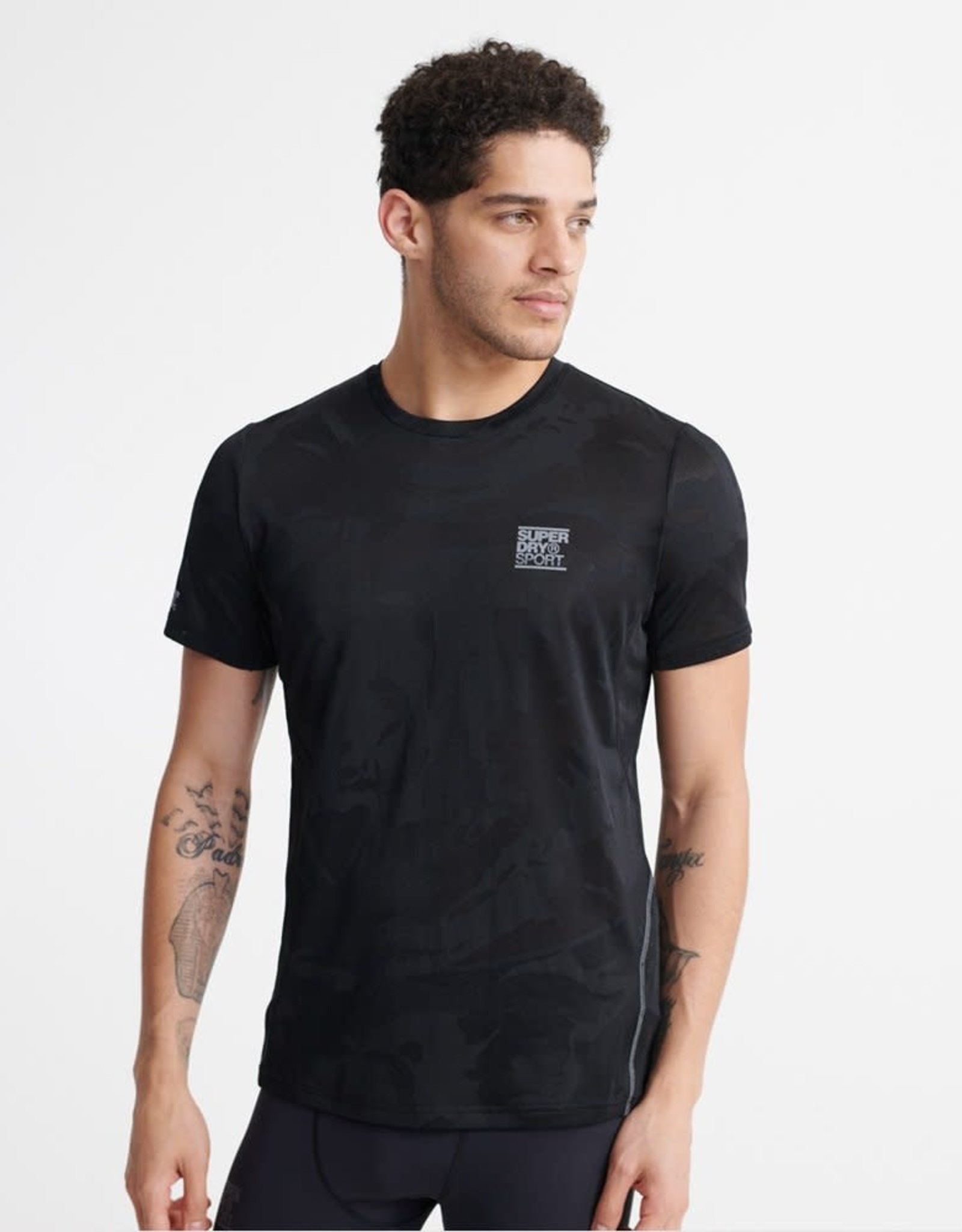 Superdry SD Training Camo Tee