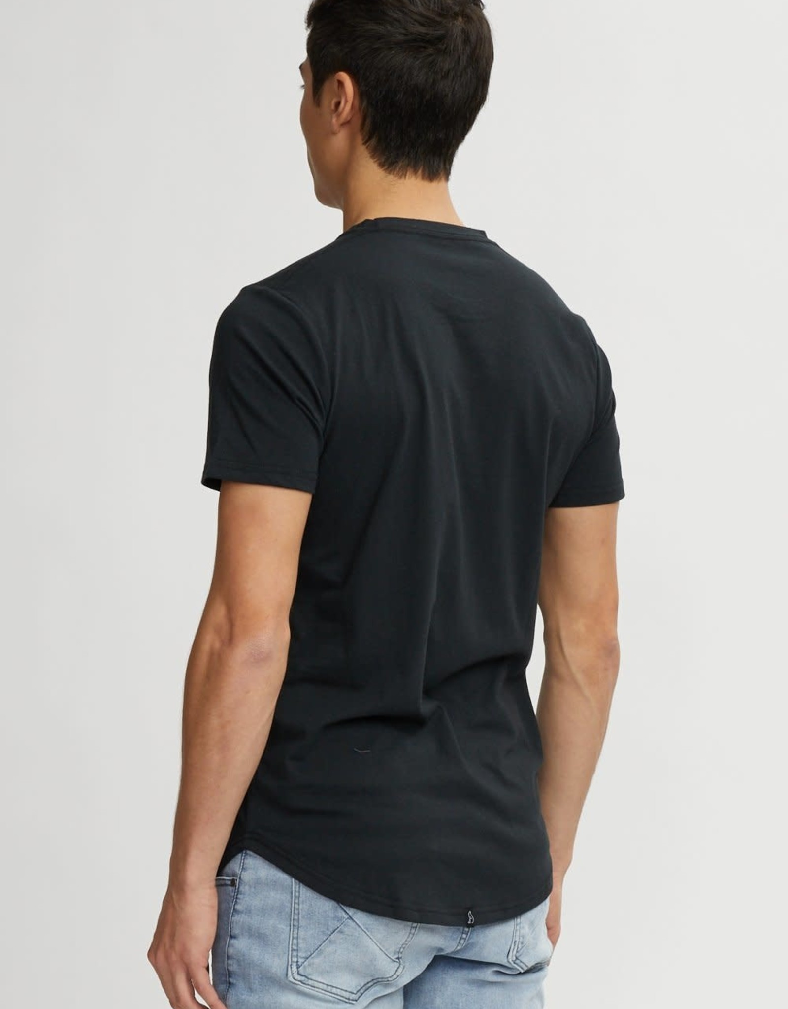 Kuwalla Tee KW Blk Easy Scoop Tee
