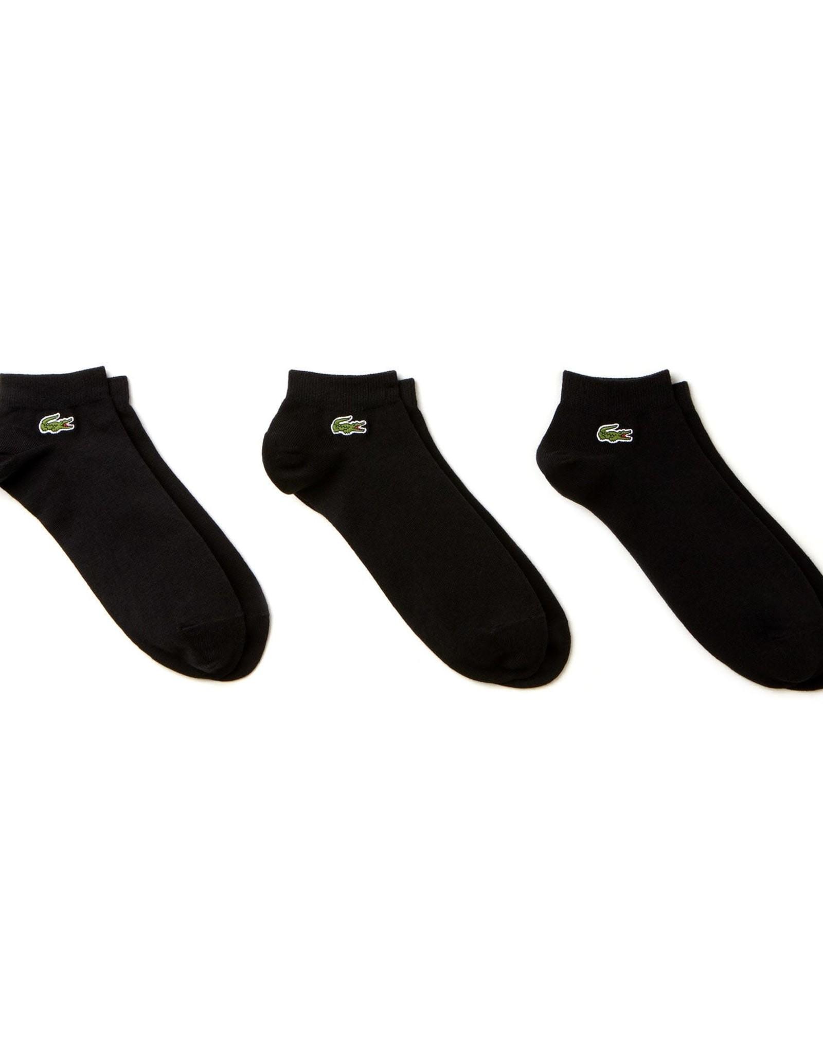 Lacoste BLK 3Pack Socks Lacoste
