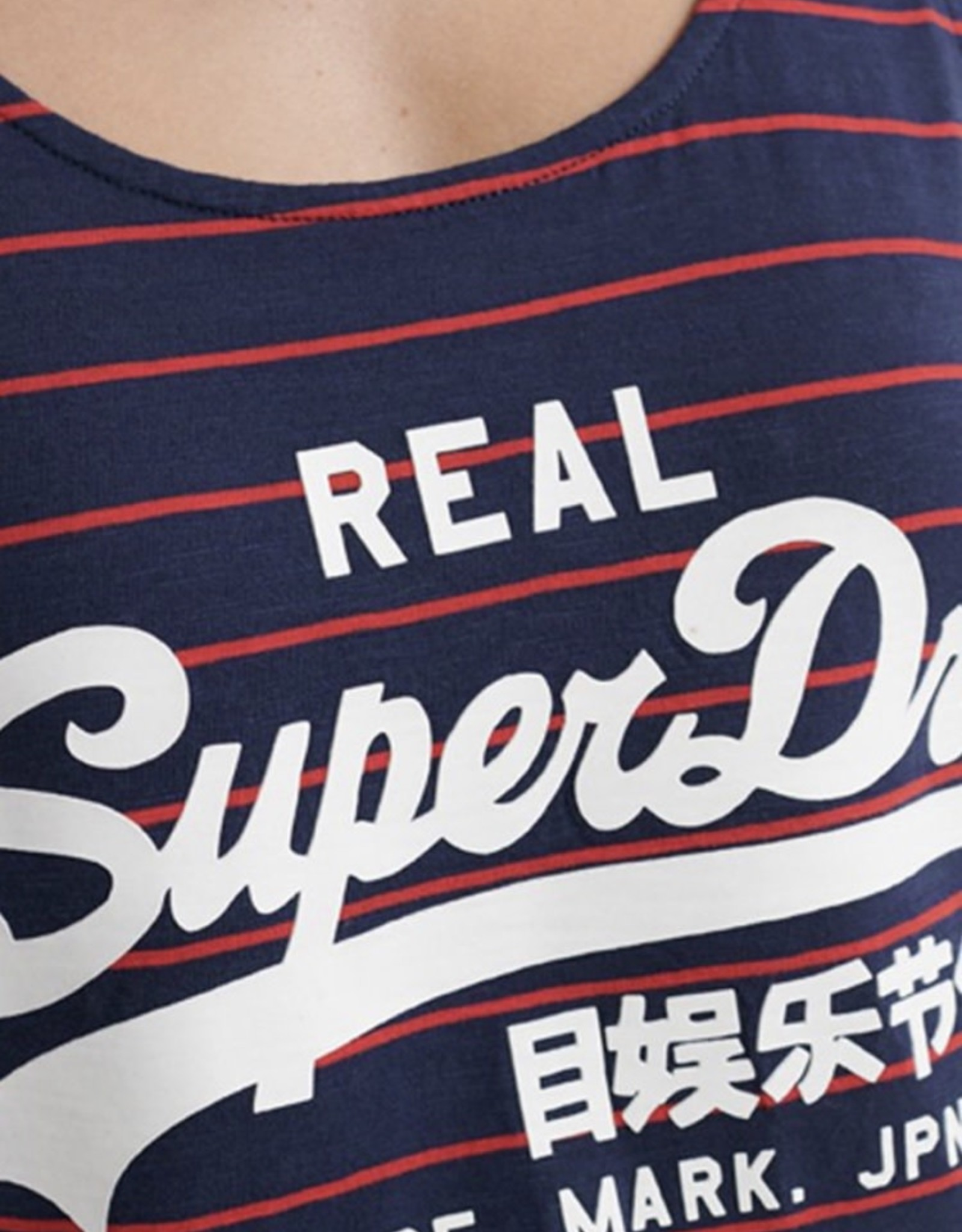 Superdry SD STRIPE  VLCLASSIC TOP