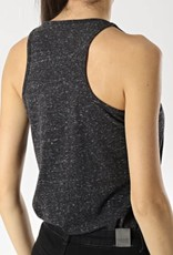 Superdry OL ESSENTIAL TANK CHARCOLL
