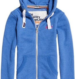 Superdry SD ORANGE LABLE ZIPHOOD