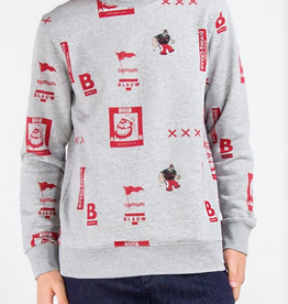 Scotch & Soda SS BRUTUS AMS CREWNECK SWEAT