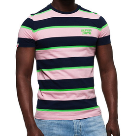 Superdry SD STACKED SKATE LUX STRIPE TEE