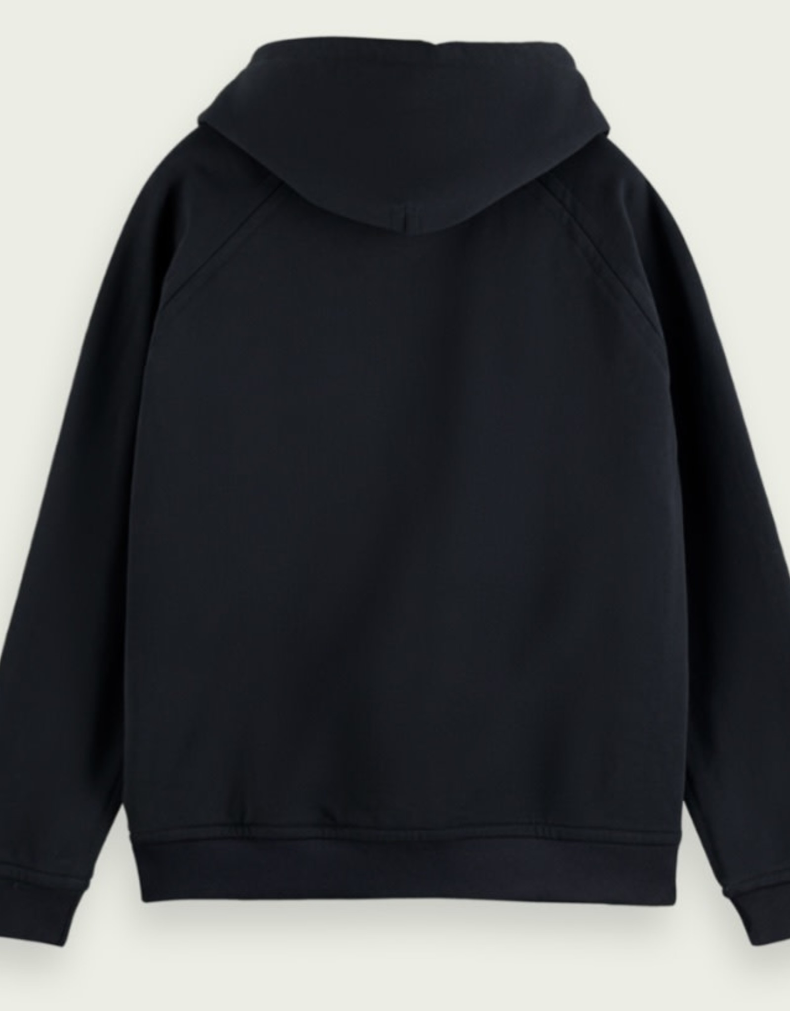 Scotch & Soda SS REGLAN SLEEVE RELAXED-FIT HOODIE