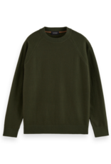 Scotch & Soda SS STRUCTURE-KNITTED RAGLAN SLEEVE PULLOVER