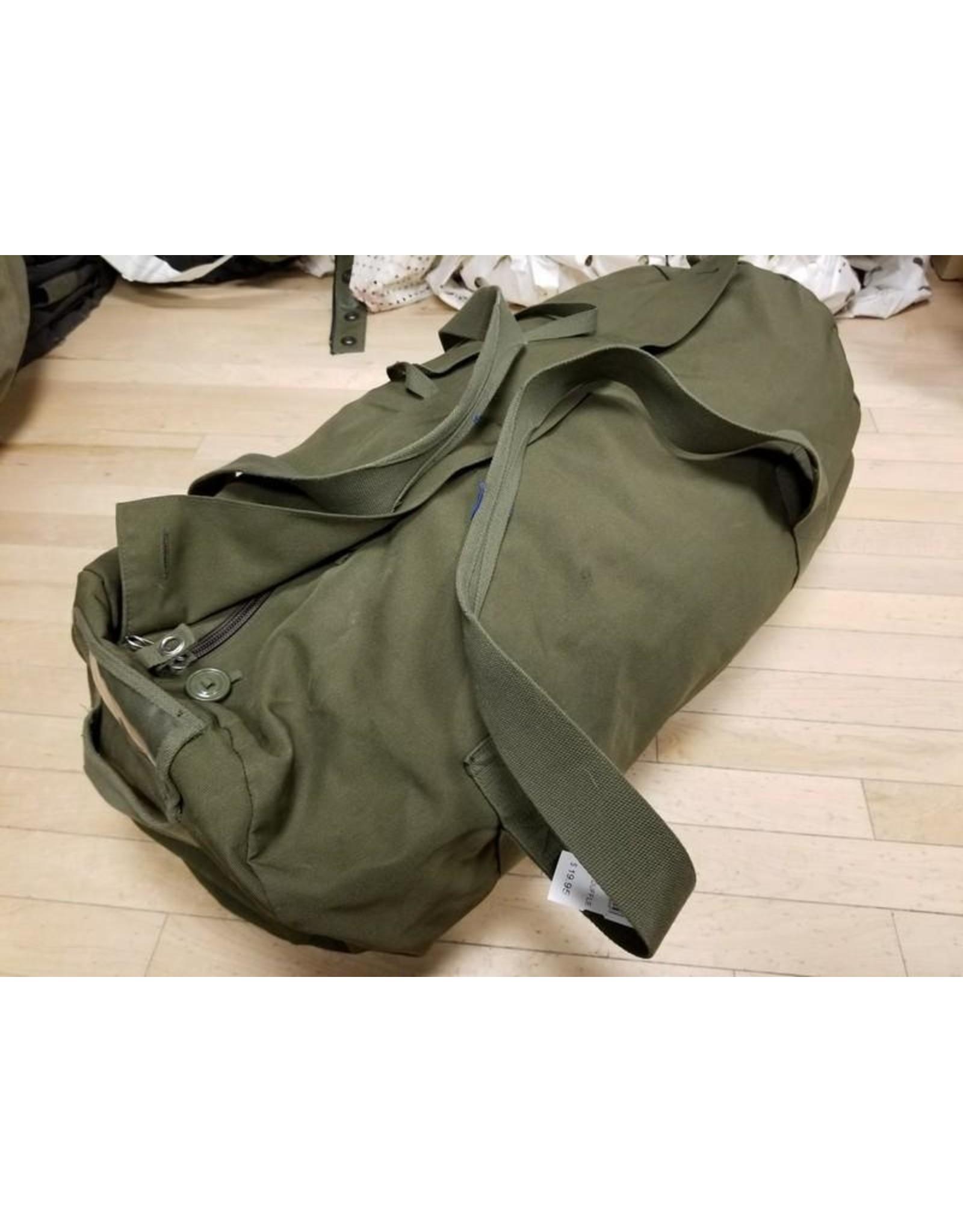 Canadian Olive Duffle bag