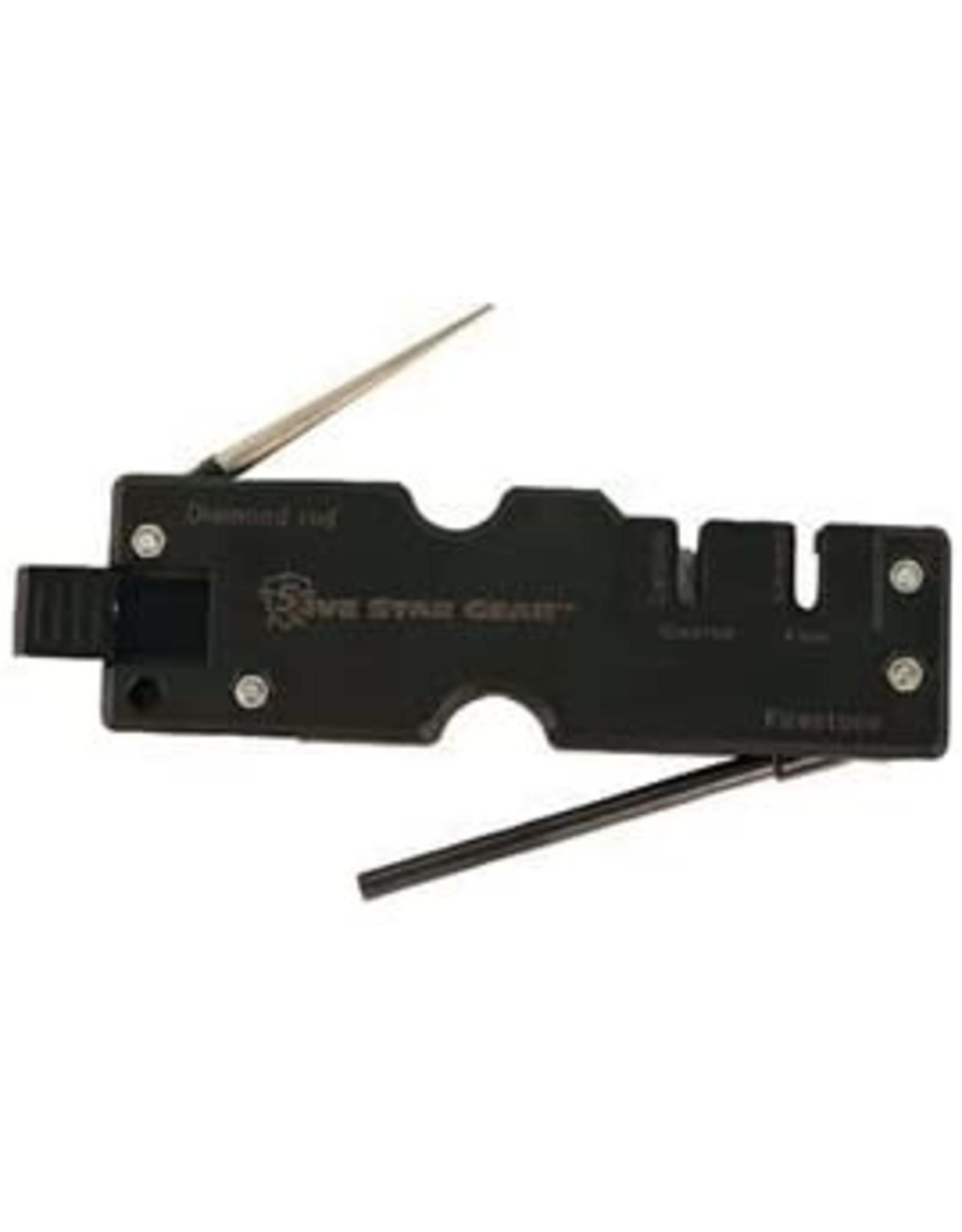 5IVE STAR GEAR MULTI-FUNCTION KNIFE SHARPENER
