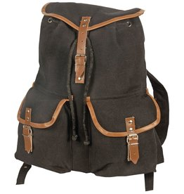 WORLD FAMOUS SALES Vintage Camper Rucksack - # 1004 BLACK