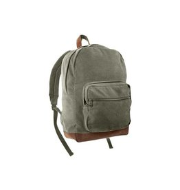 ROTHCO Canvas Teardrop Pack W/ Leather Accents - 9666