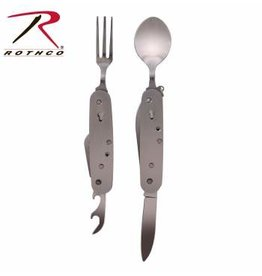ROTHCO ROTHCO STAINLESS STEEL FOLDING CHOW SET