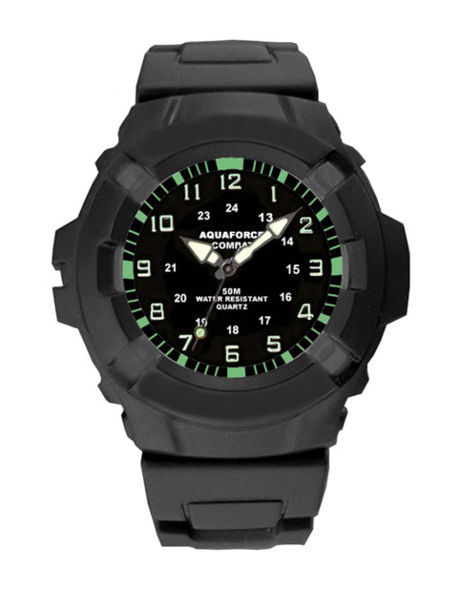 AQUAFORCE Analog Quartz Military Tactical Watch 24-002