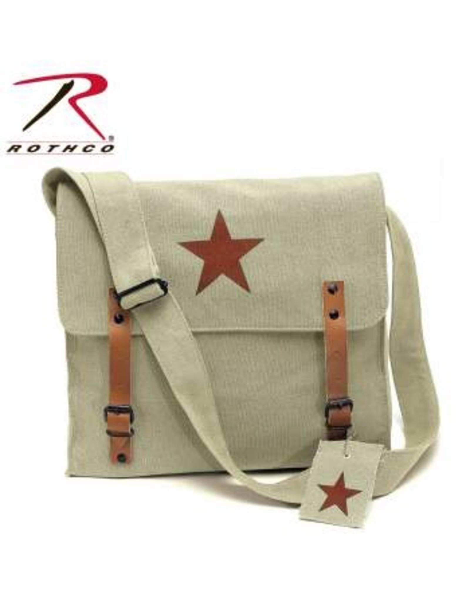 ROTHCO Rothco Canvas Classic Bag w/ Medic Star - Khaki