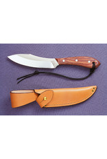 GROHMANN KNIVES #R4S SURVIVAL KNIFE WITH BUTTON TAB SHEATH