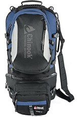 CHINOOK TECHNICAL OUTDOOR Chinook Excursion 70 Backpack- Navy/Black