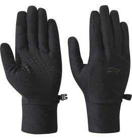 OUTDOOR RESEARCH OR VIGOR LIGHTWEIGHT SENSOR GLOVES - BLACK