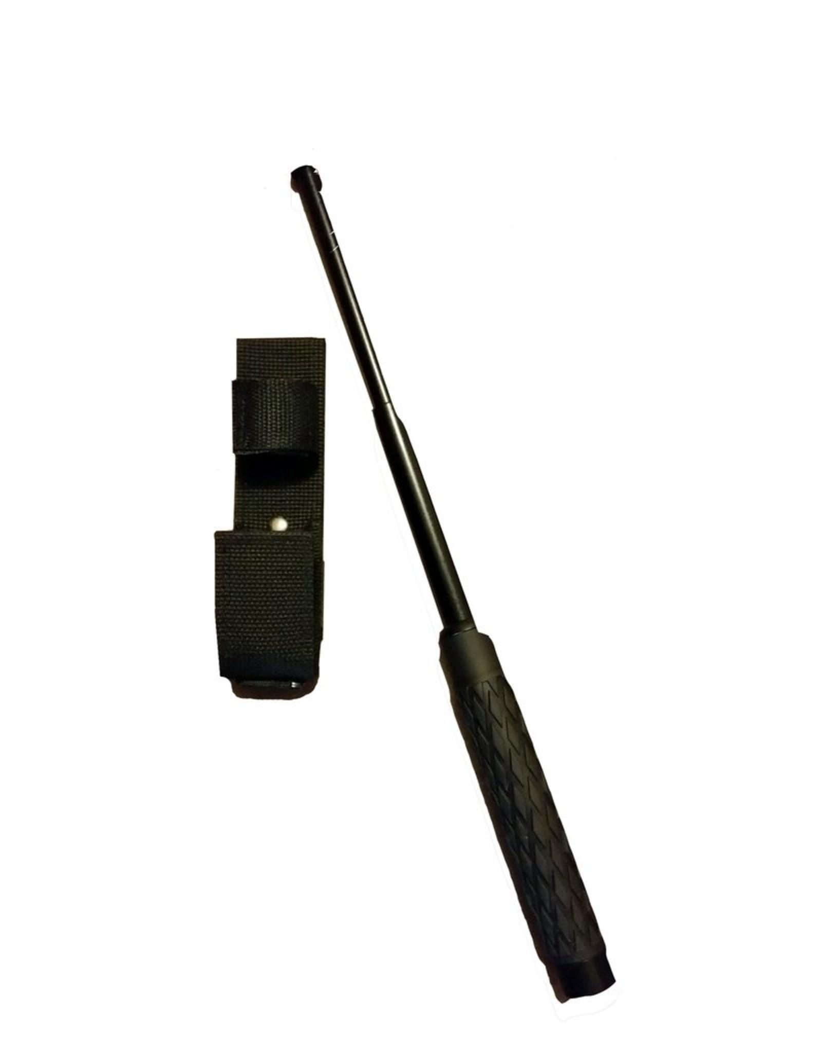 "RUKO KNIVES Extendable 21"" Steel Baton W/rubber grip - NS-21"