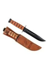 "KA-BAR KNIVES Ka-bar - Usmc Knife, 7"", Straight Blade, Black"