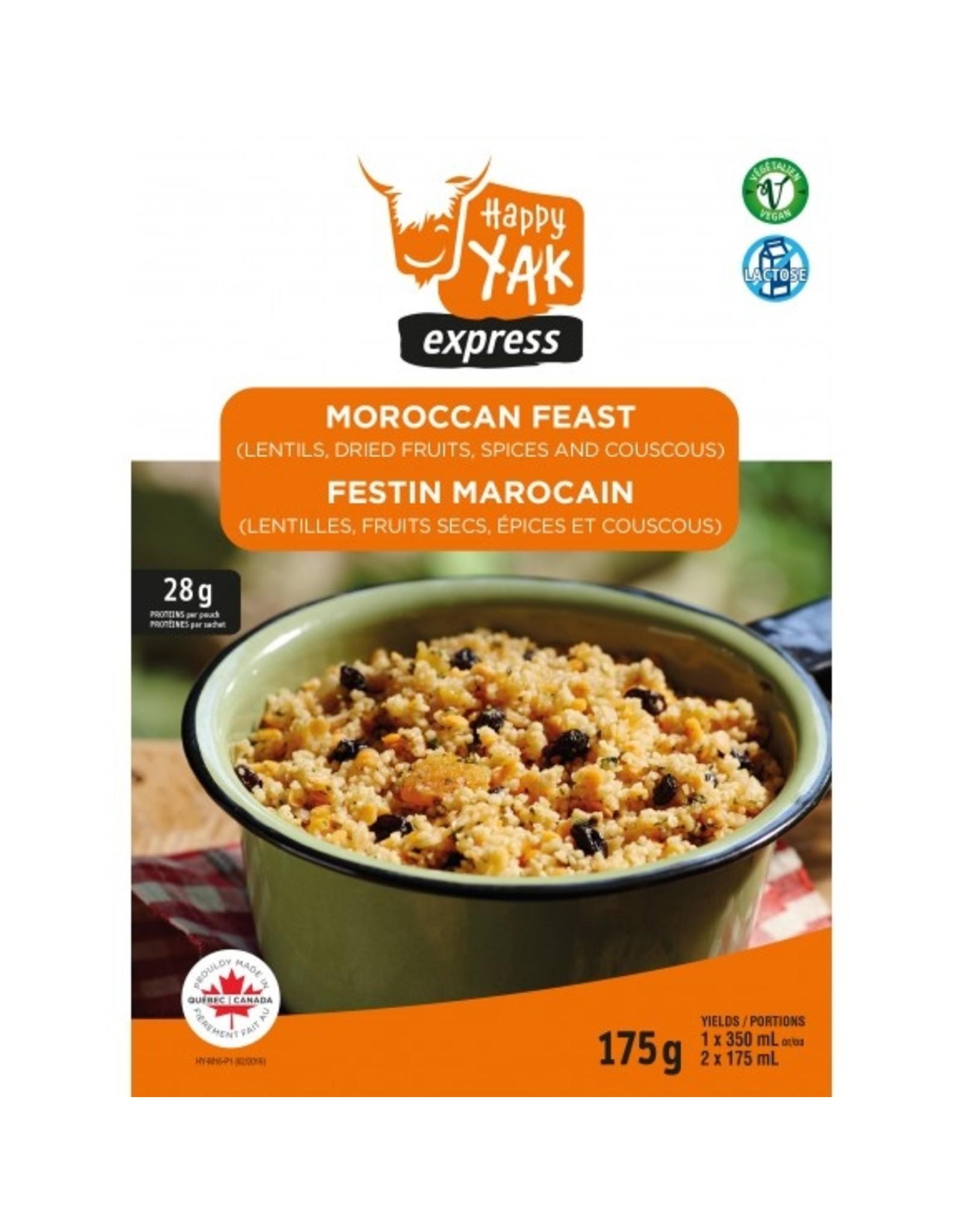 HAPPY YAK Moroccan Feast