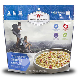 WISE COMPANY Strawberry Granola Crunch
