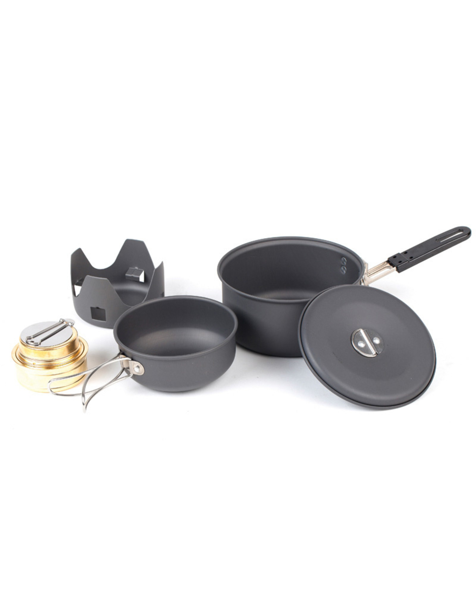 NDUR Mini Cookware Kit with Alcohol Burner