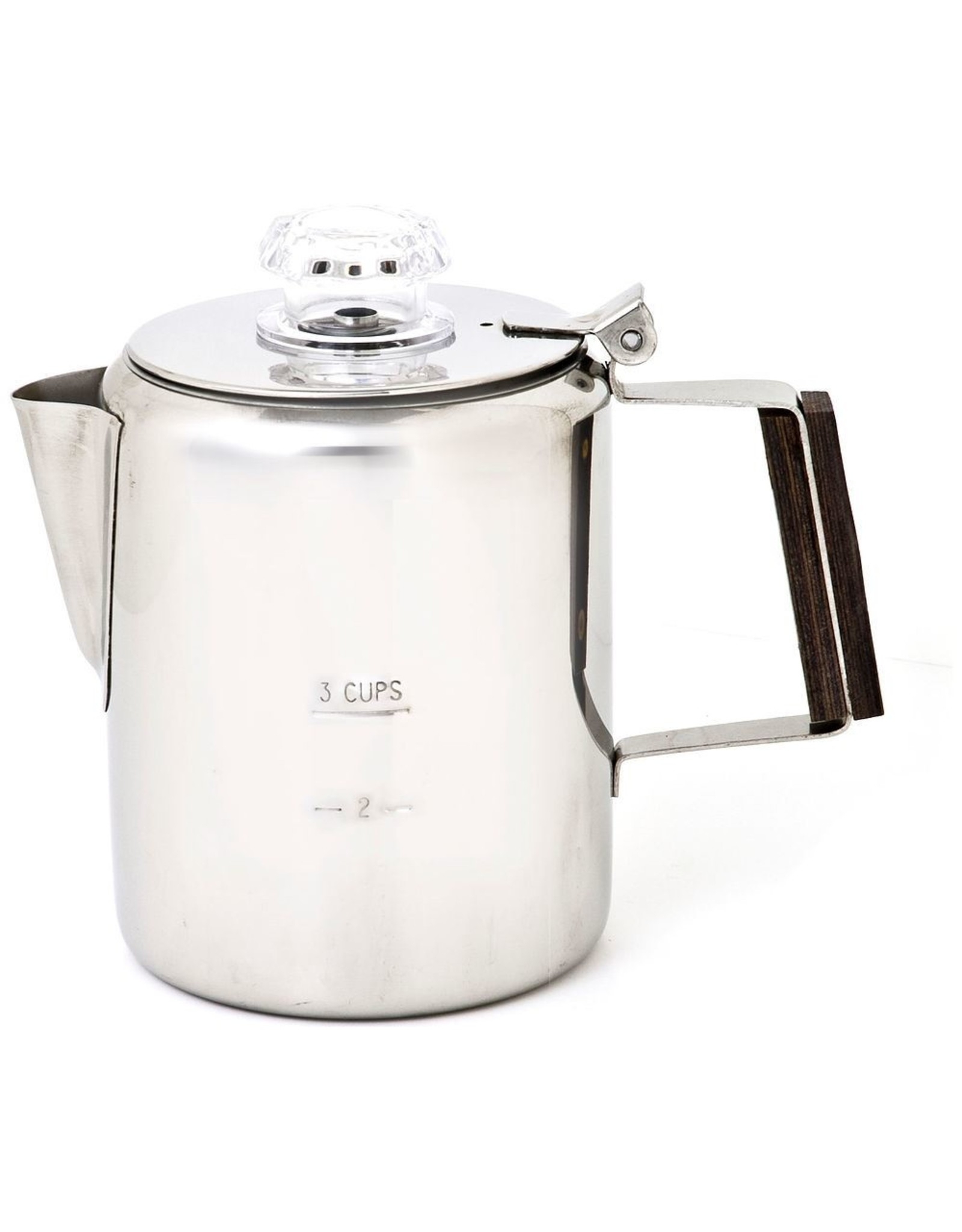 CHINOOK TECHNICAL OUTDOOR Timberline Stainless Steel Coffee Percolator