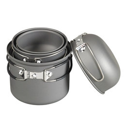 NDUR NDUR 6 PIECE ESSENTIAL COOKWARE MESS KIT
