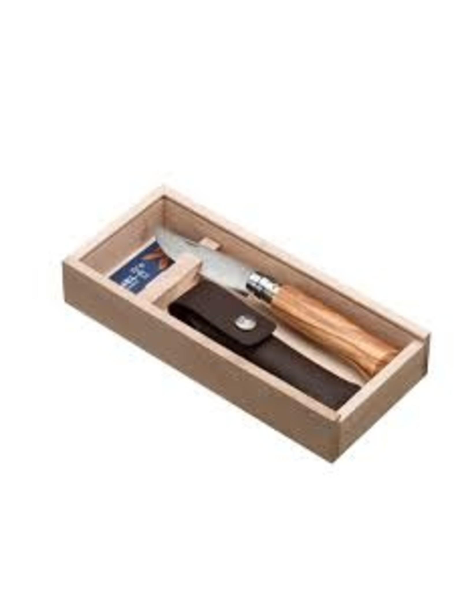 OPINEL OPINEL N°08 Olive wood + sheath