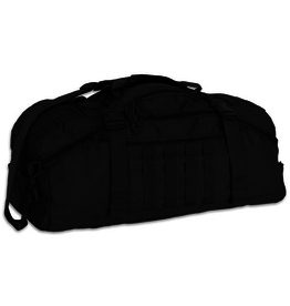 WORLD FAMOUS SPORTS 45 Liter Tactical Duffle - TB 621 BLACK