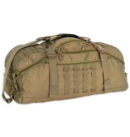 WORLD FAMOUS SPORTS 45 Liter Tactical Duffle - AB 621 COYOTE