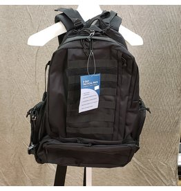 LARGE 3 DAY TACTICAL BAG-BLK - 85127
